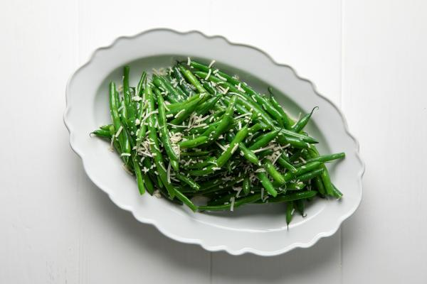 Green Beans With Pecorino