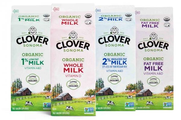 Clover Sonoma Organic Milk