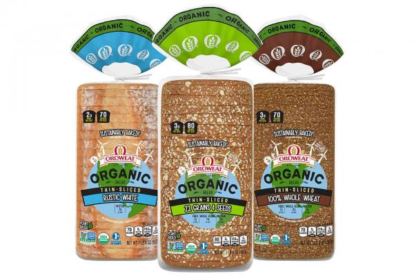 Oroweat Organic Bread