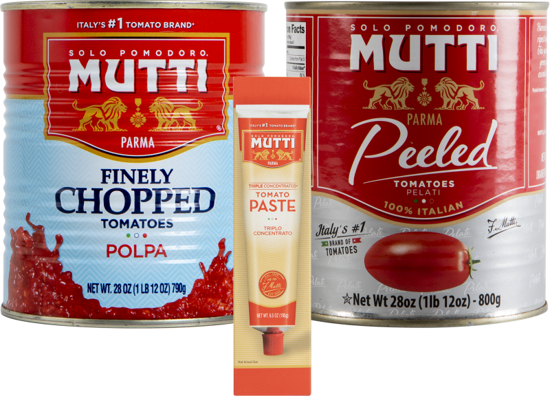 Mutti Canned Tomatoes, Paste, or Puree