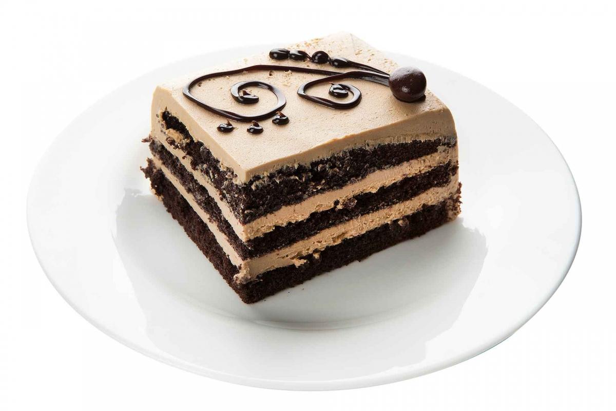 Mocha Cake Square
