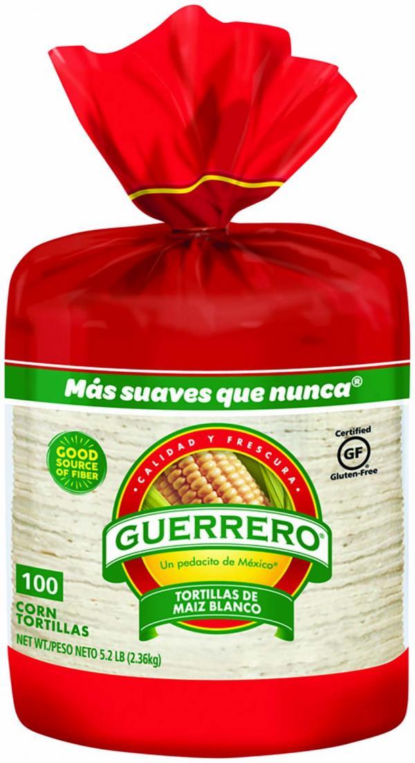 Guerrero Corn Tortillas