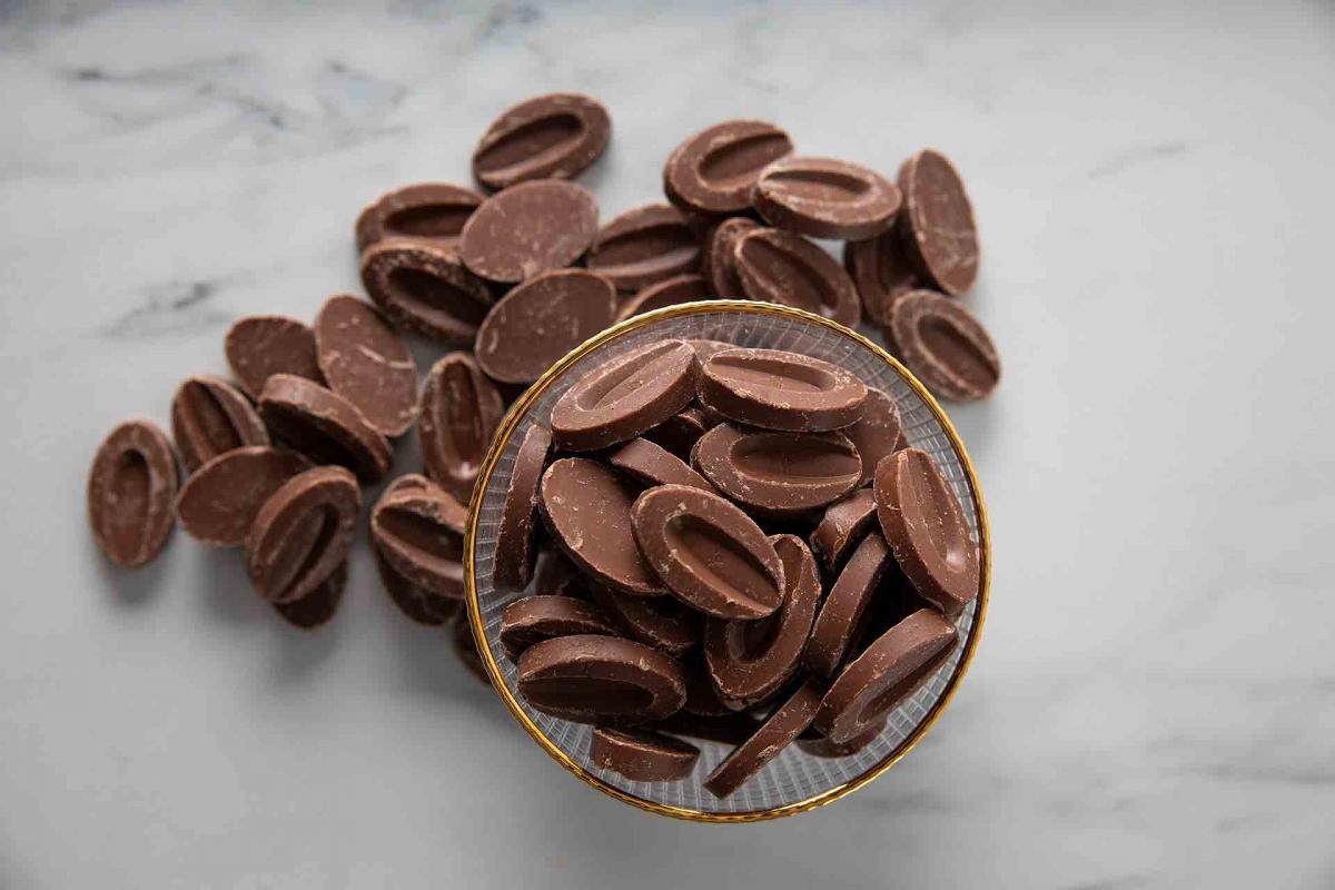 Jivara Lactee 40% Milk Chocolate Discs