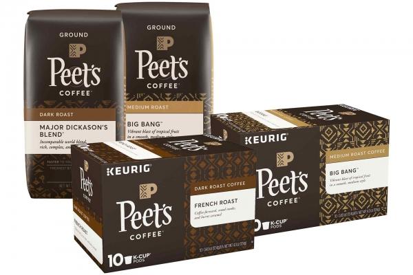 Peet's Coffee or K-Cups