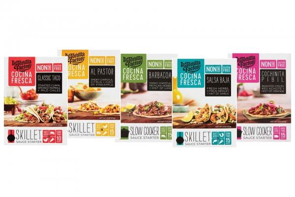 La Tortilla Factory Sauce Starters