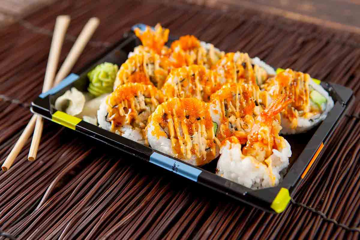 Golden Tempura Shrimp Roll