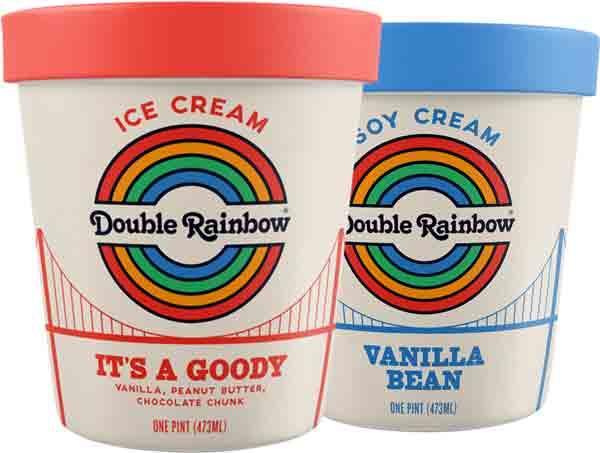 Double Rainbow IceCream