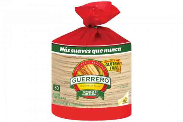 Guerrero White Corn Tortillas