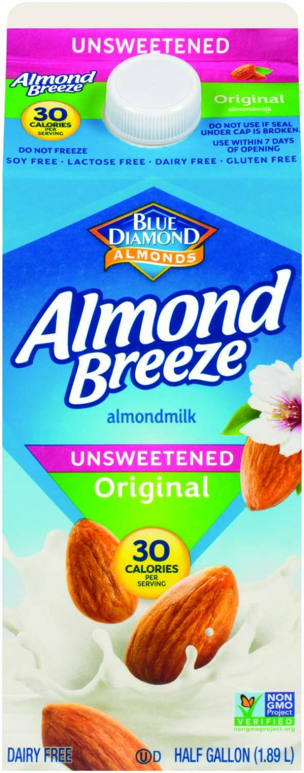 Blue Diamond Almond Breeze Almondmilk