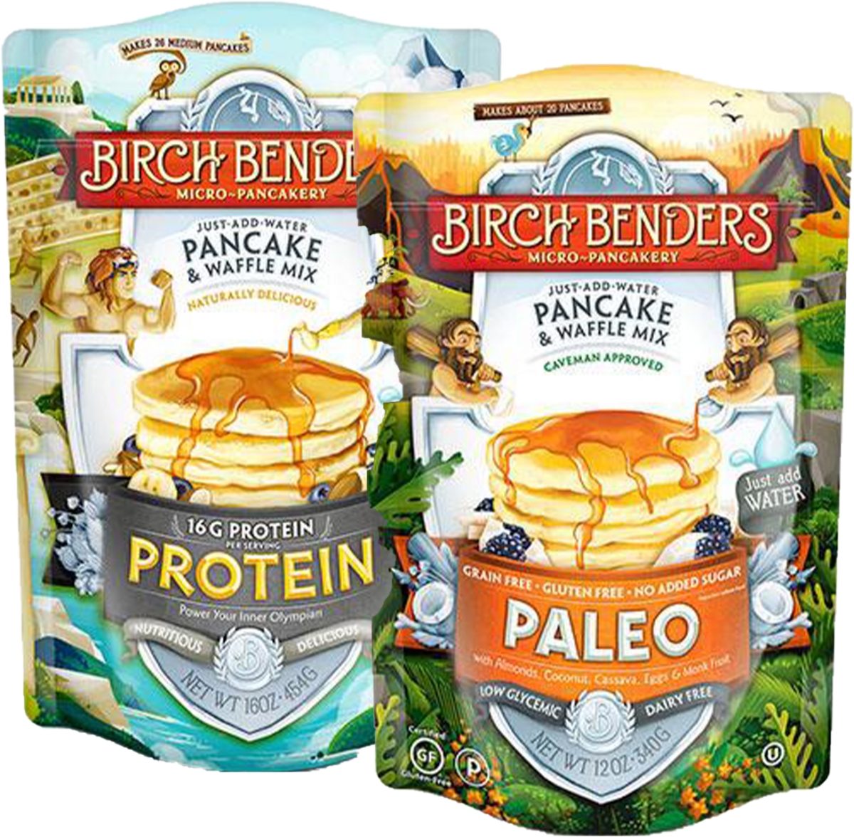 Birch Benders Pancake and Waffle Mixes