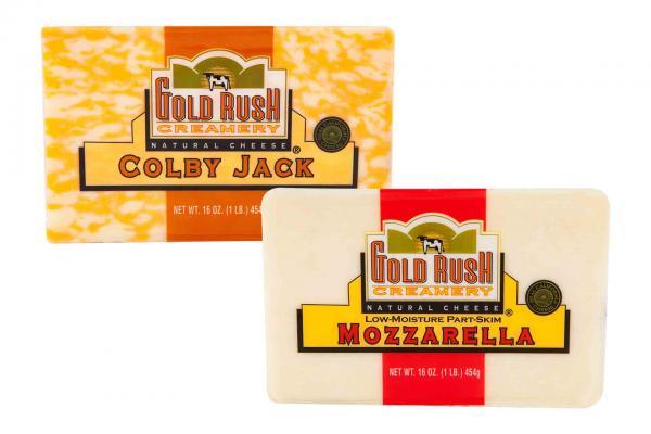 Gold Rush Block Cheese