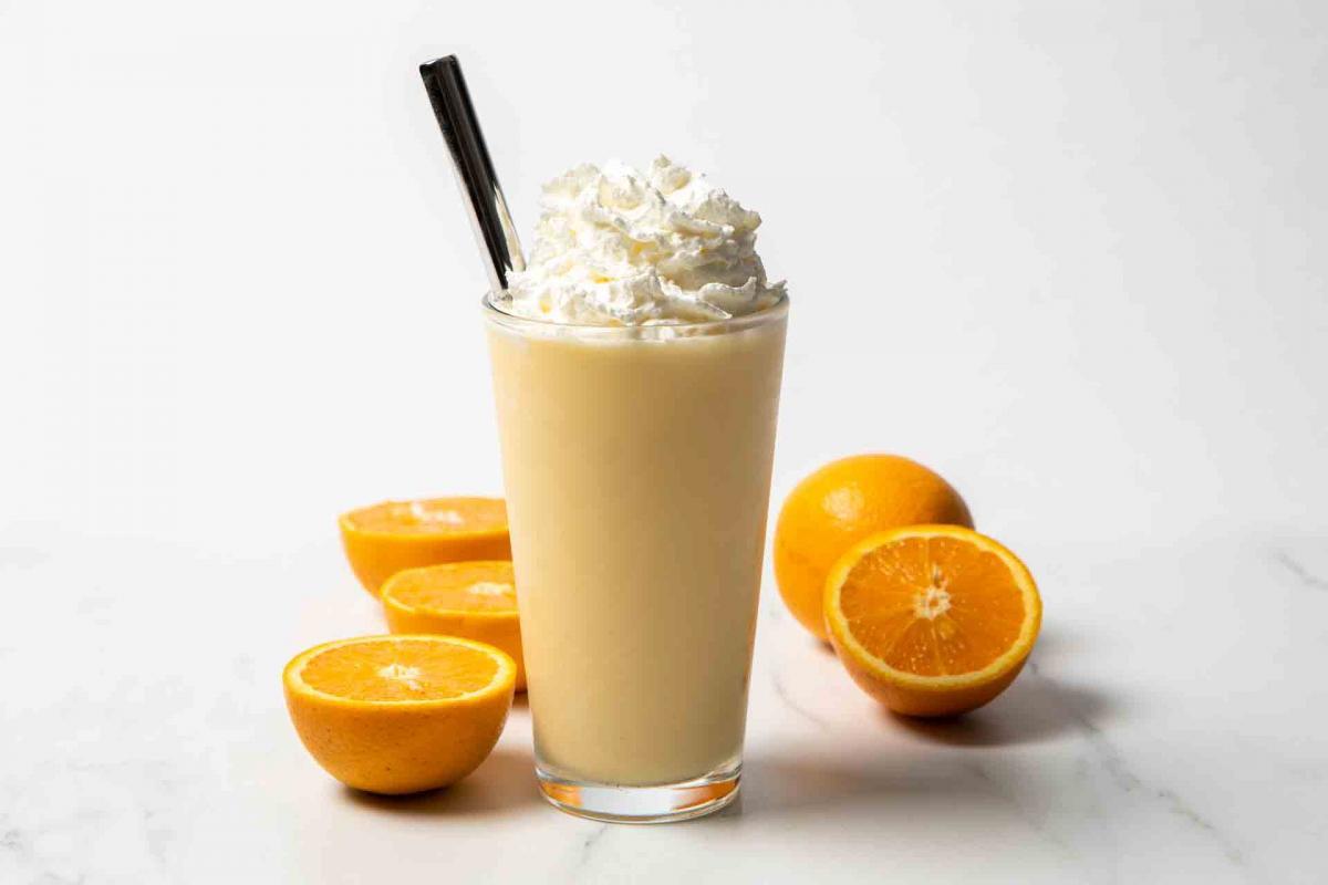 Orange Dreamsicle Frappe