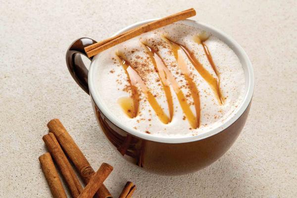 Caramelo Horchata Latte