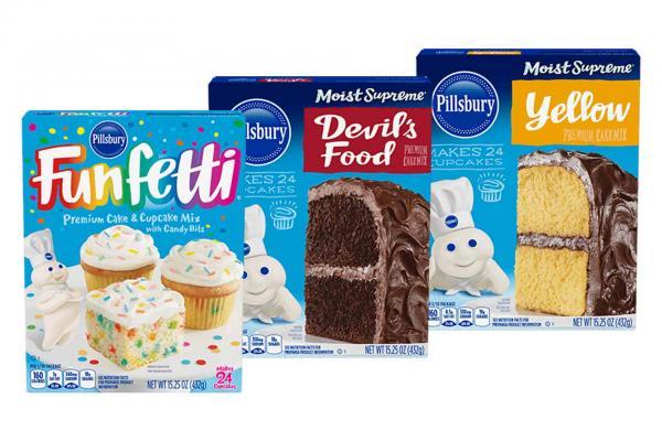 Pillsbury Cake Mixes