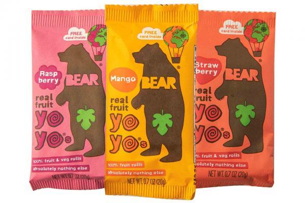 Bear Yo Yo's Fruit Rolls