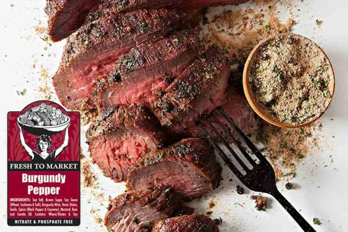 Fresh to Market Burgundy Pepper Tri-Tip