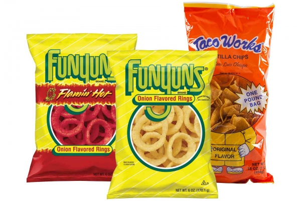 Funyuns or Taco Works Chips
