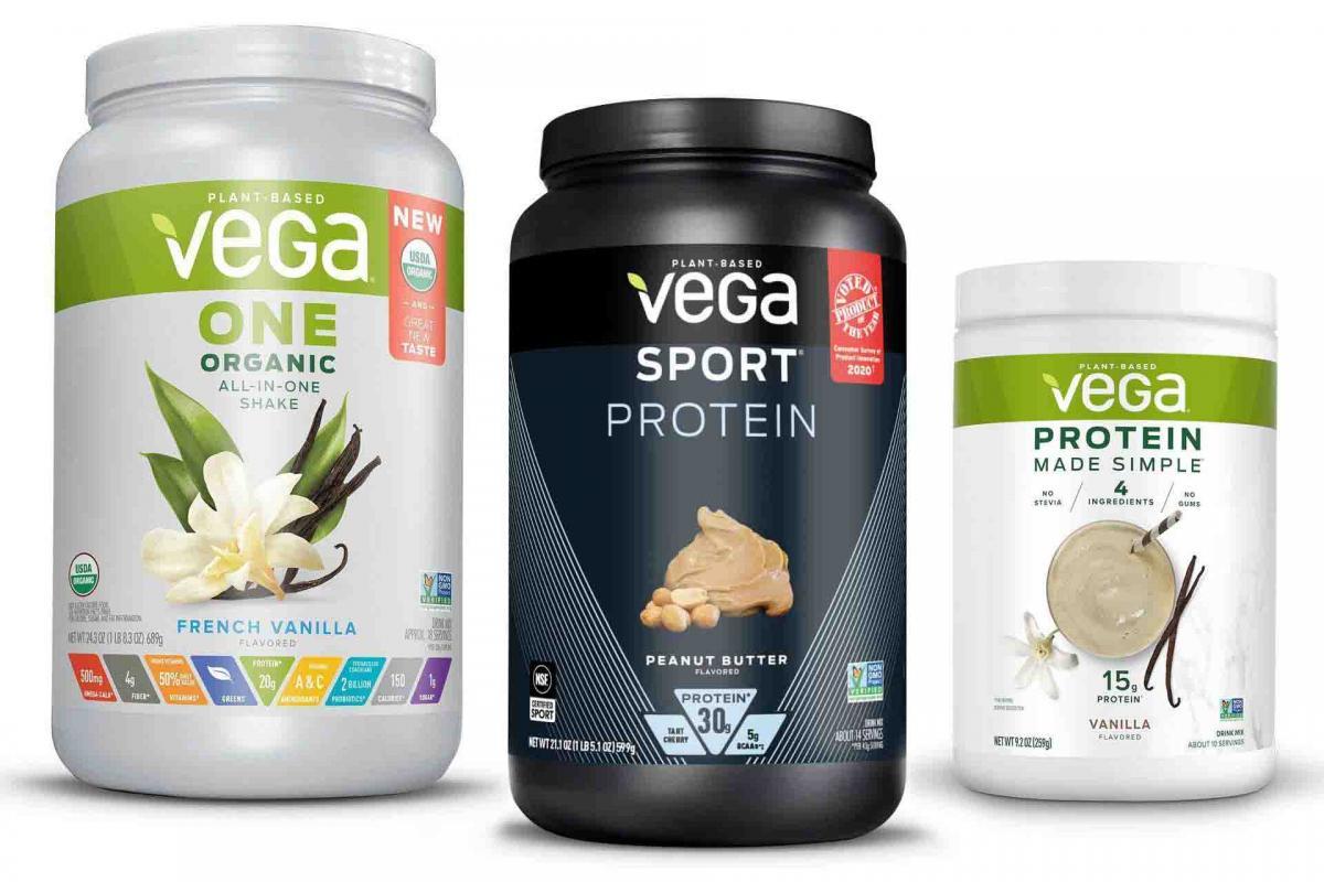 Vega Protein Tubs