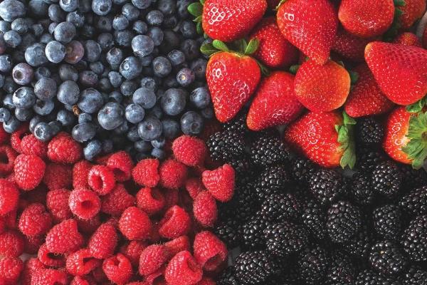 Blackberries or Raspberries, or Blueberries