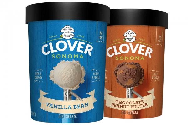 Clover Vanilla Bean Ice Cream