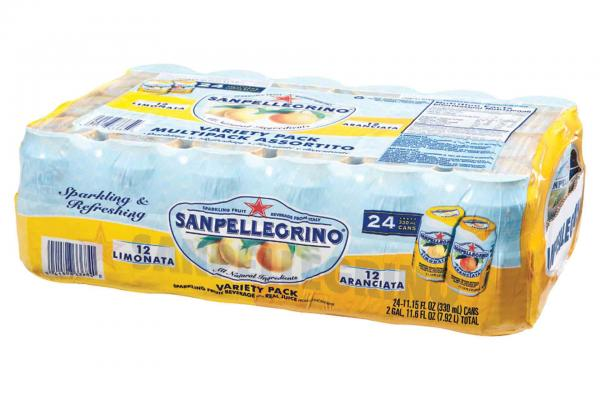 San Pellegrino Lemon/orange 24pk Case