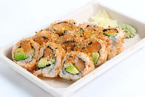 Sushi Avenue Sriracha Salmon Roll (valley)