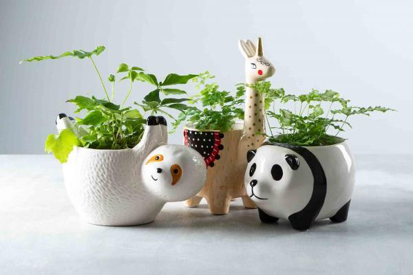 Ceramic AnimalFoliage