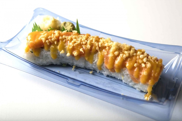 Crunchy Spicy Salmon