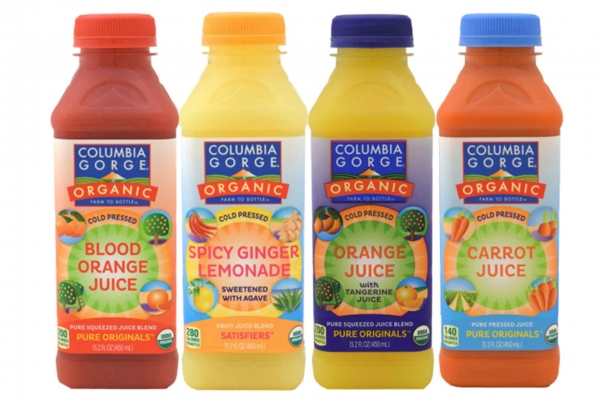 Columbia Gorge Organic Drinks