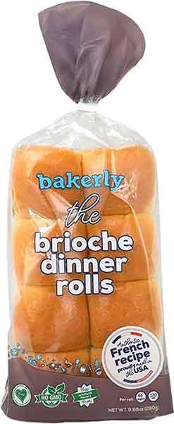 Bakerly Brioche Dinner Rolls