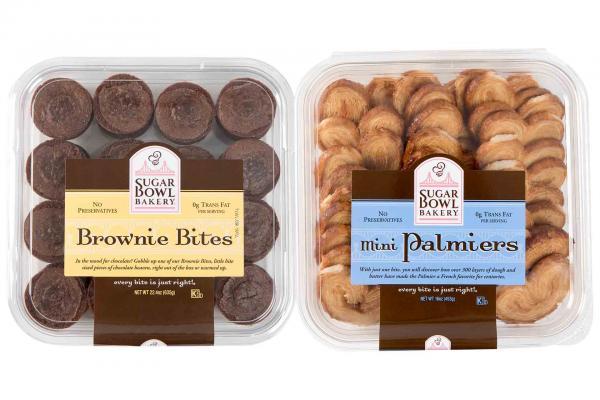 Sugar Bowl Bakery Brownie Bites, Madeleines, or Palmiers