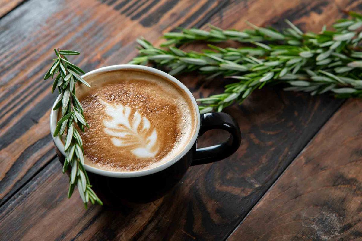 Vanilla Rosemary Latte
