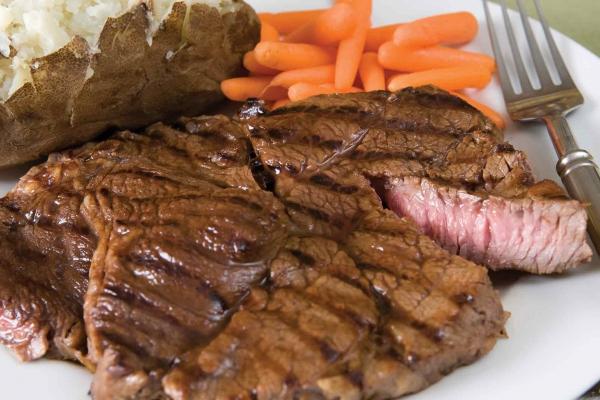 "Beef Boneless Chuck Roasts or Steaks, Thin-Sliced, ""Diezmillo"""