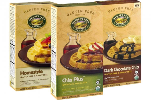 Nature's Path Organic Waffles