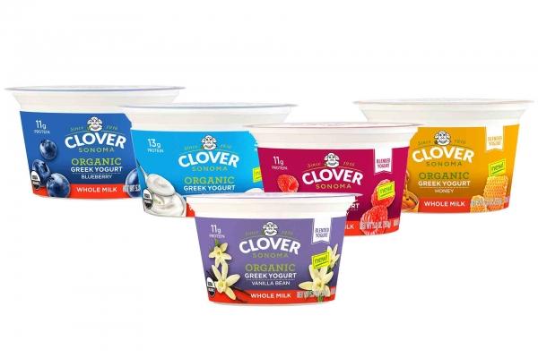 Clover Sonoma Organic Whole Milk Greek Yogurt