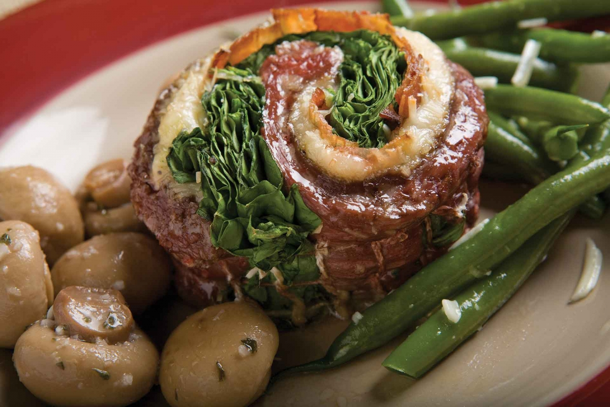 Stuffed Beef Flank Steaks
