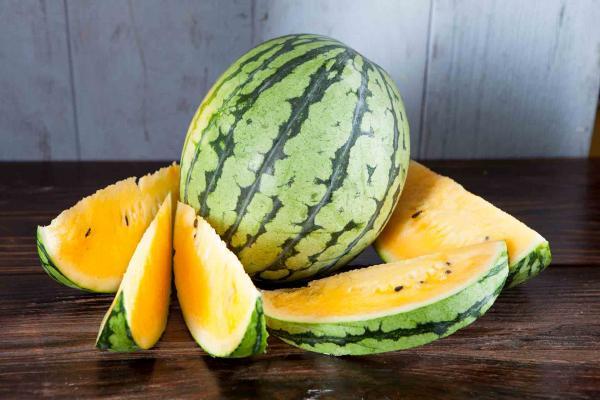 Organic Yellow Doll Watermelon