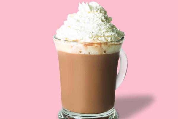 Hot Dark Chocolate Orange Mocha