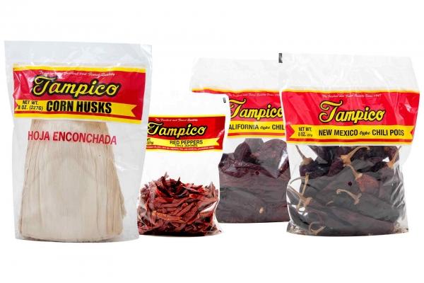Tampico Corn Husks or Chili Pods