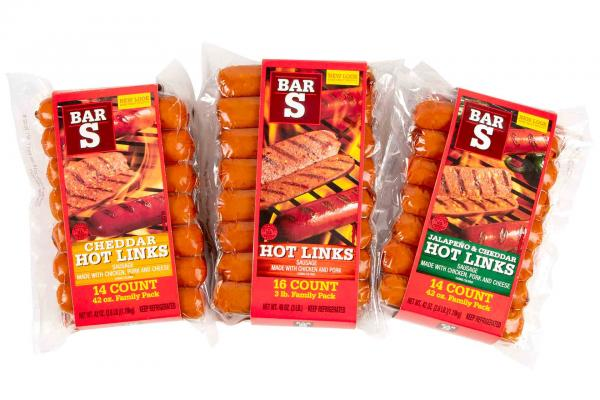 Bar-S Hot Links