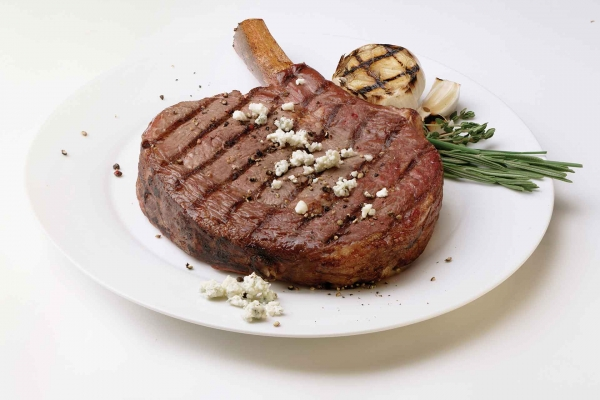 Premium Angus Beef Bone-In Ribeye Steaks