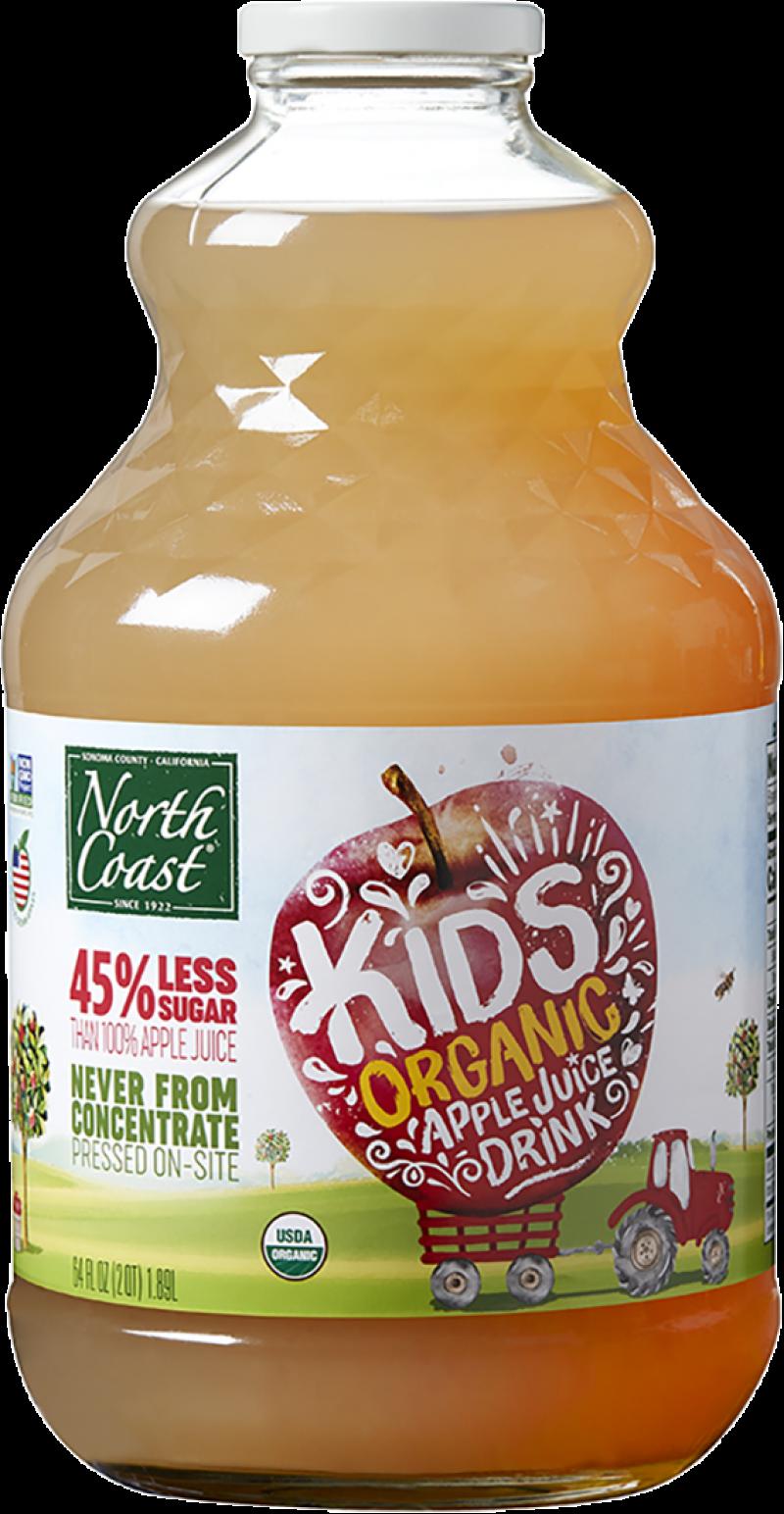 North Coast Organic Kids Low Sugar Apple Juice