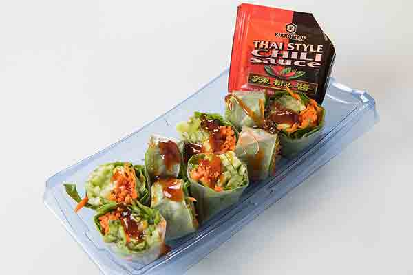 Spicy Vegetable Spring Roll