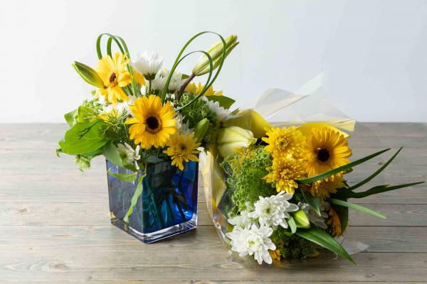 Bright Eyes Mixed Bouquet